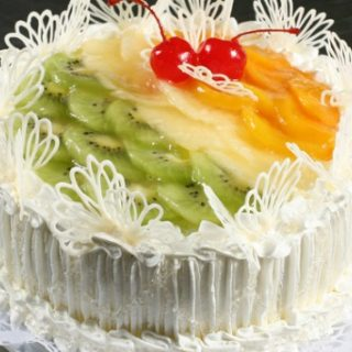 cake with fruit