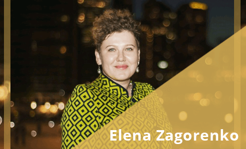 Elena Zagorenko Elise Stevens podcast project management